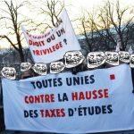 Non à l'expulsion des logements étudiants // #StoplaHausse // #refugeeswelcome