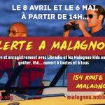 Alerte à Malagnou - vol 1. émission de radio
